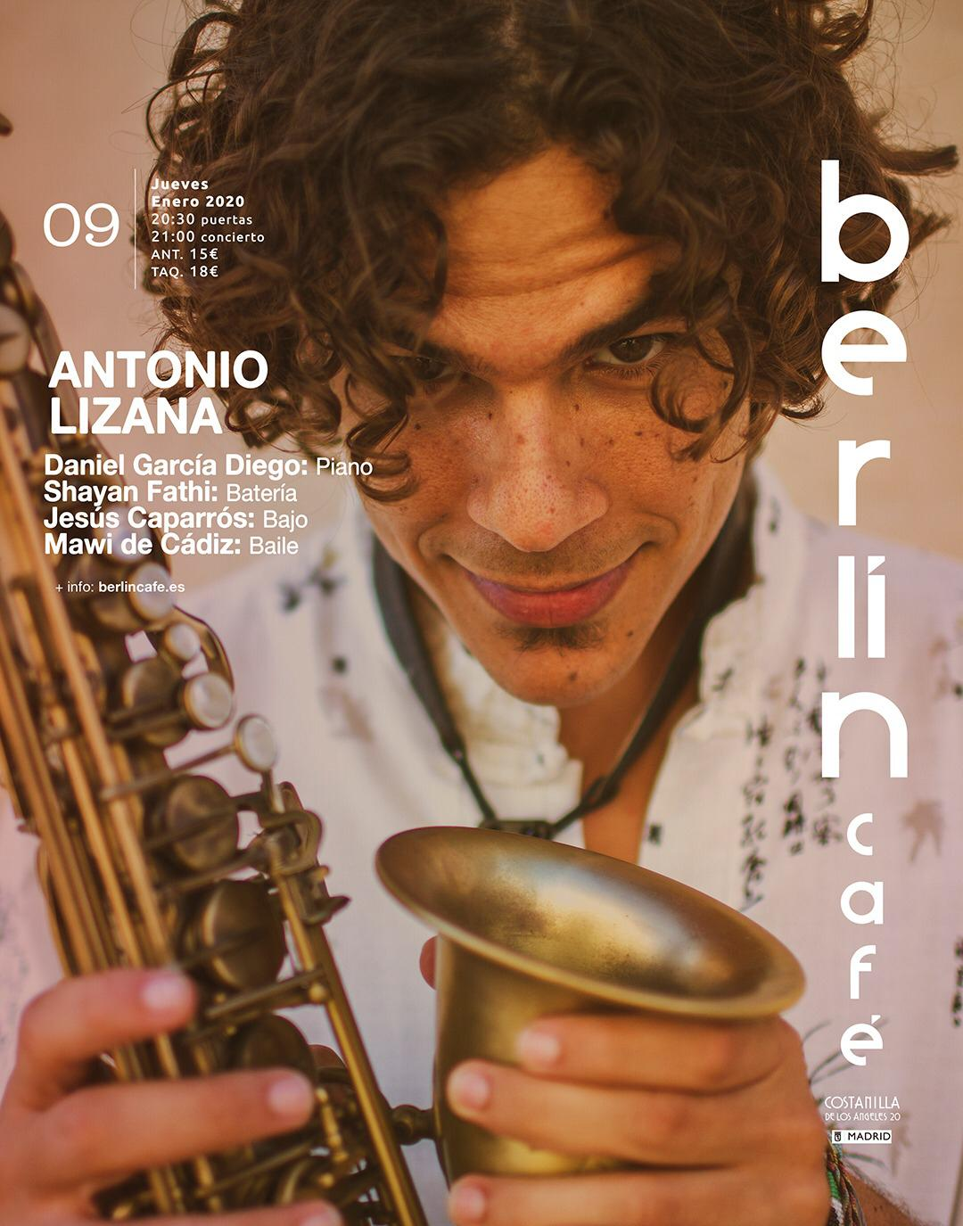 Antonio Lizana Cafe Berlín